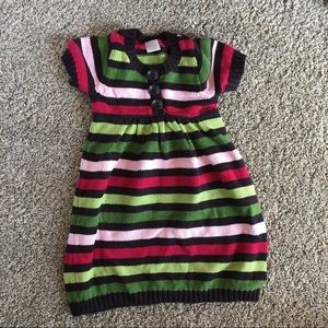🌿KNITTED STRIPED GYMBOREE DRESS